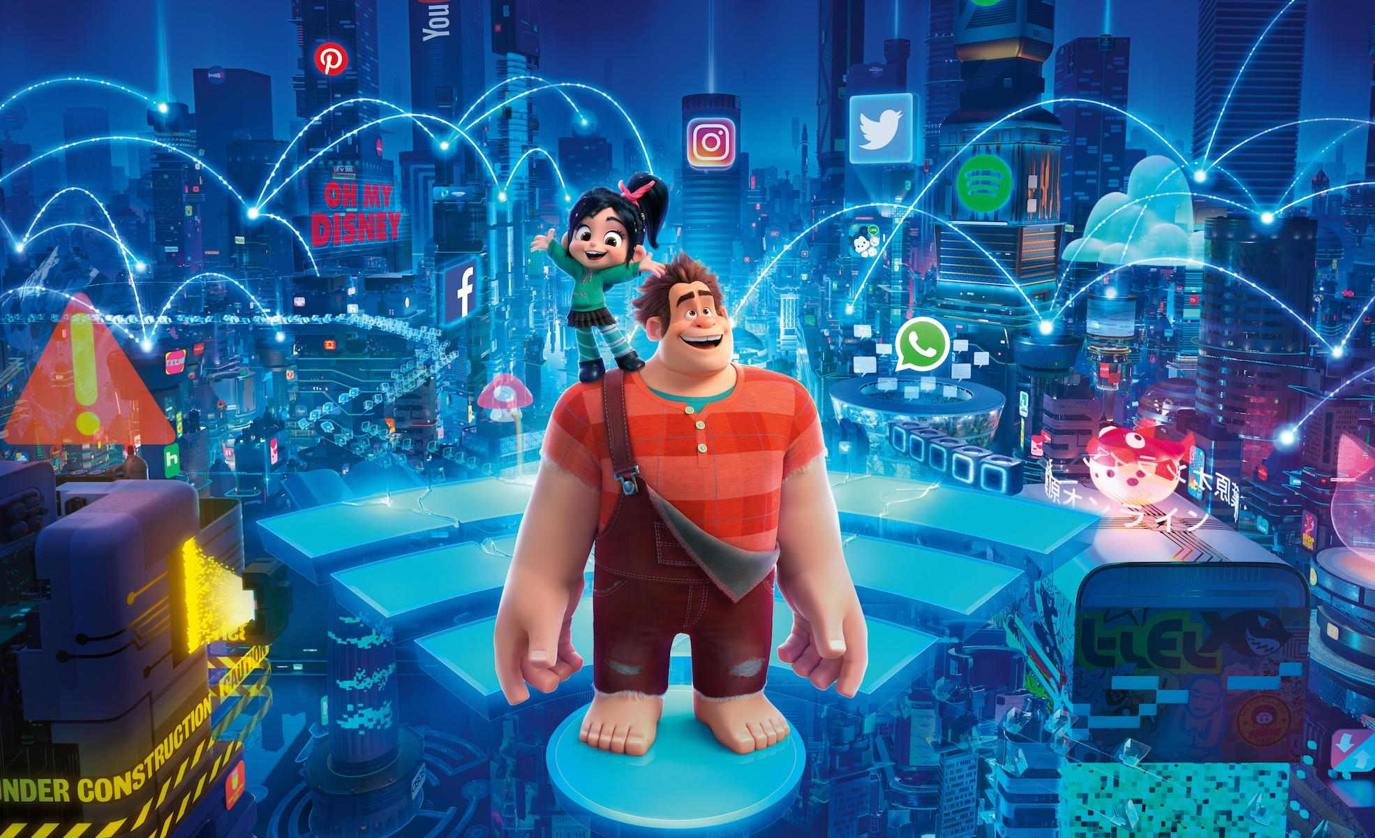 Ralph Breaks The Internet release date on Disney+