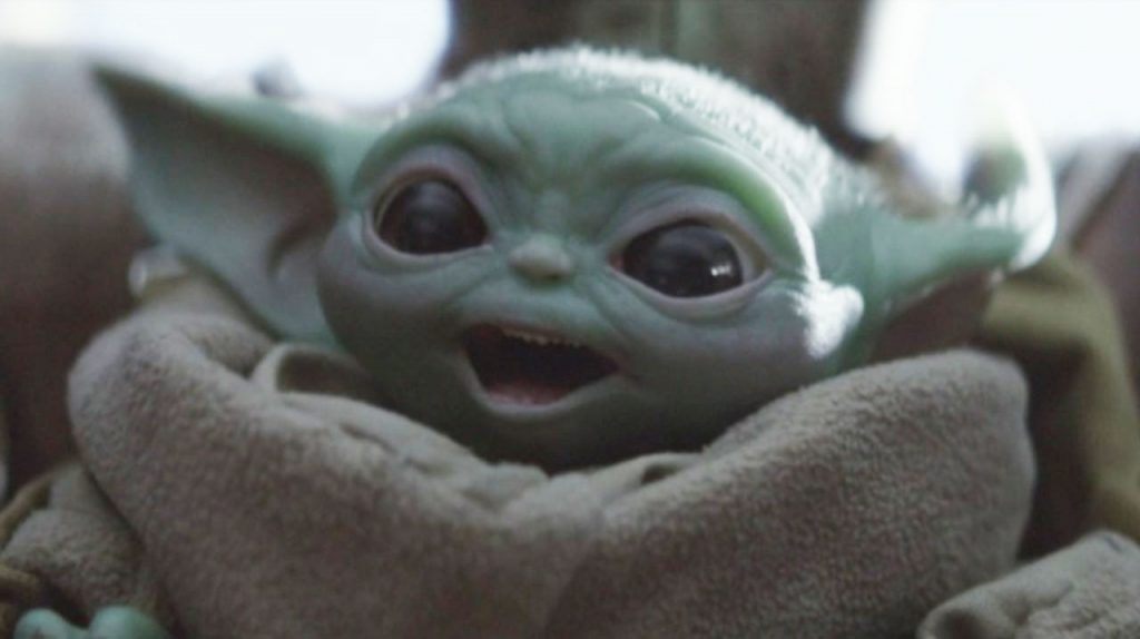 Disney+ Baby Yoda from The Mandalorian