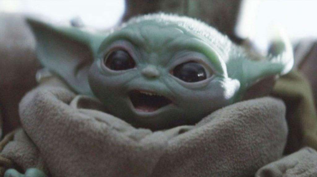 Disney+ Baby Yoda from The Mandalorian