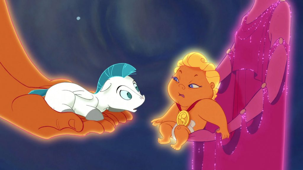 Disney+ Baby Pegasus from Hercules