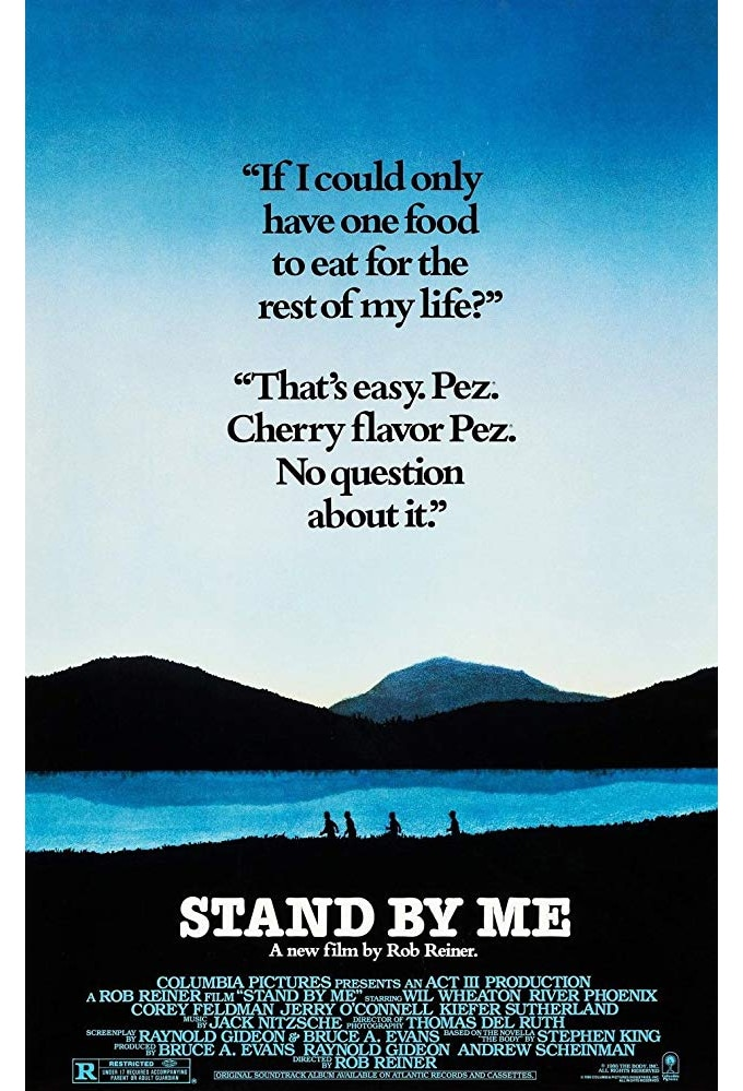 Best Stephen King movie streaming Stand by Me