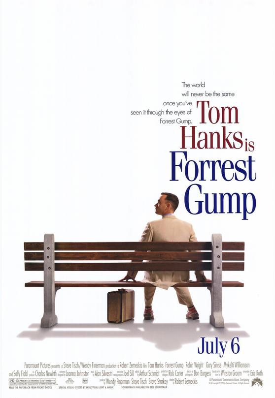 Forrest Gump from Paramount Pictures on CBS All Access